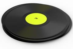 винил lp черного диска альбома рекордный Стоковая Фотография