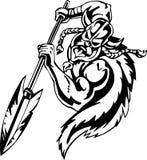 винил viking вектора иллюстрации нордический готовый Стоковая Фотография RF