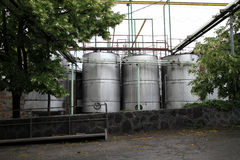 Винные изделия в Georgia, Кавказе Стоковое фото RF