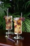 виноградина заморозила чай лаванды Стоковые Изображения RF