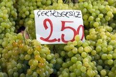 виноградины бессемонные Стоковые Фотографии RF