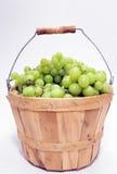 виноградины корзины Стоковое Изображение