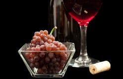 Виноградины красного вина Стоковые Изображения
