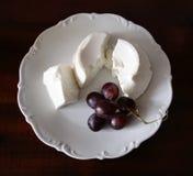 виноградины меньшяя заедк ricotta Стоковое Фото
