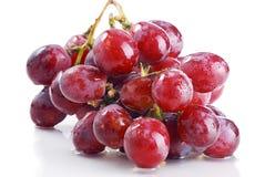 Виноградины над белой предпосылкой Стоковые Фотографии RF