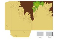 виноградины подарка скоросшивателя иллюстрация штока