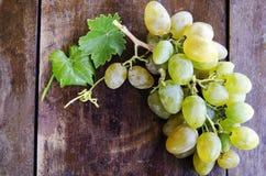 виноградины предпосылки деревянные Стоковые Изображения