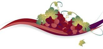 виноградины предпосылки иллюстрация вектора