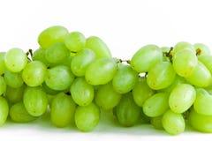 виноградины пука зеленеют белизну Стоковые Изображения