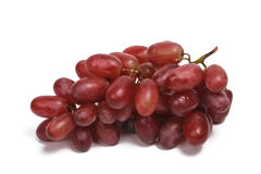 виноградины пука изолировали красный цвет Стоковые Фото