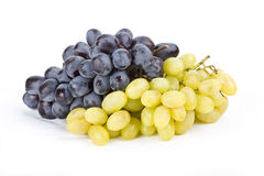 Виноградины светотеневые на белизне Стоковое фото RF