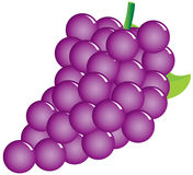 виноградины сладостные иллюстрация штока