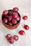виноградины шаров деревянные Стоковая Фотография