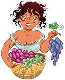 виноградины gather иллюстрация штока