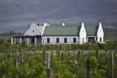 виноградник сельского дома зданий стоковые изображения