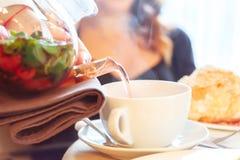 винограда чай стоковая фотография rf