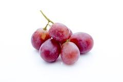 Виноградина на белой предпосылке ягода свежая Стоковые Изображения RF