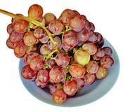 Виноградина на плите Стоковые Изображения RF