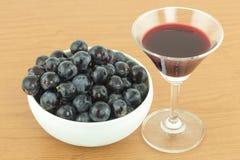 Виноградины в Японии Стоковое Изображение