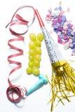 12 виноградины и утварей на Новый Год Стоковое Изображение RF