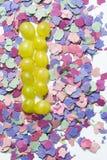 12 виноградины и утварей на Новый Год Стоковые Изображения