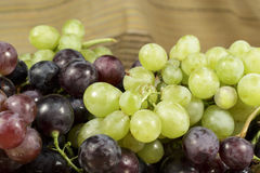 Виноградины разных видов и цветов Стоковое фото RF