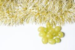 12 виноградин, для празднуют Новый Год Стоковые Изображения RF