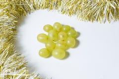 12 виноградин, для празднуют Новый Год Стоковые Изображения