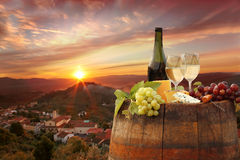 виноградник Тосканы chianti стоковое изображение