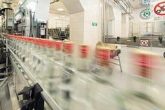 Винокурня Бреста Магазин для разливая по бутылкам водочки Стоковая Фотография