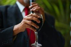 Вино Байкала поздравлениям красное Стоковые Фотографии RF