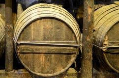 вино бочонка старое Стоковые Изображения RF