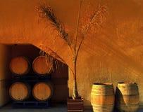 вино бочонков стоковое изображение