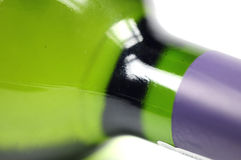 вино бутылки близкое поднимающее вверх Стоковое Изображение RF