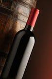 вино бутылки красное Стоковое Изображение