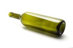 вино бутылки пустое Стоковые Изображения RF
