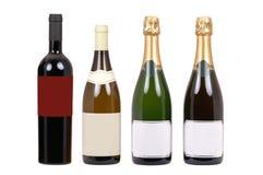 вино бутылок Стоковые Изображения