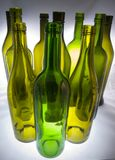 вино бутылок Стоковая Фотография