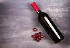 вино бутылки красное вино жизни неподвижное Еда и концепция пить Стоковая Фотография