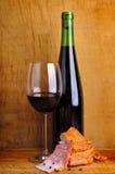 вино ветчины красное, котор курят Стоковые Фото