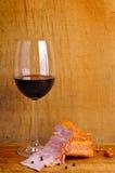 вино ветчины красное Стоковые Изображения RF