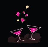 вино вечера Стоковая Фотография RF