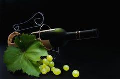 вино виноградины Стоковая Фотография
