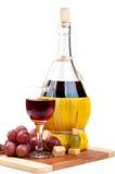 вино виноградин бутылки красное Стоковые Фото