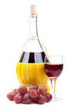 вино виноградин бутылки красное Стоковое фото RF