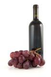 вино виноградин бутылки Стоковое Изображение RF