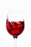 Вино вино предпосылки стеклянное белое Стоковое Фото