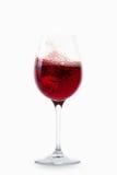 Вино вино предпосылки стеклянное белое Стоковая Фотография