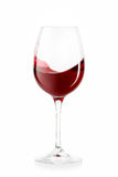Вино вино предпосылки стеклянное белое Стоковое Изображение