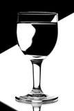 вино голубых стекел домино белое Стоковое Фото